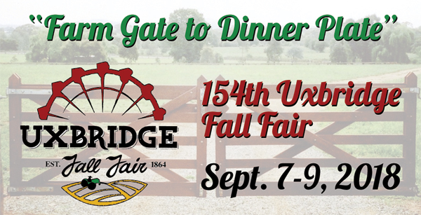 2018 Uxbridge Fall Fair