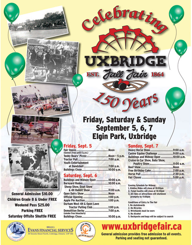 Uxbridge Fall Fair